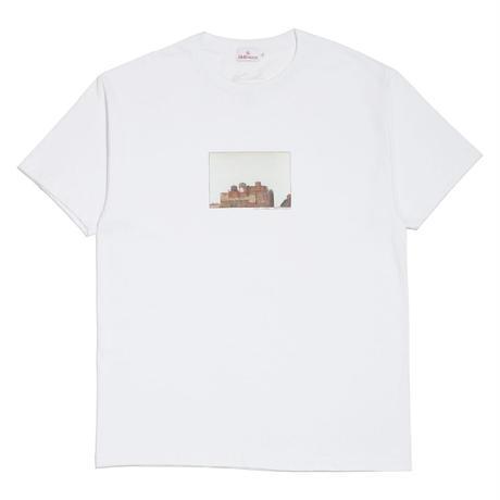 "HELLRAZOR【 ヘルレイザー】HELLRAZOR x LUI ARAKI PHOTO SHIRT ""BLICK"" WHITE Tシャツ ホワイト"