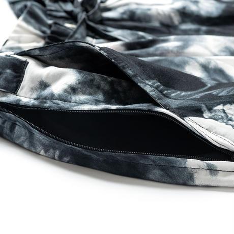 TIGHTBOOTH【 タイトブース】× JIRO KONAMI COLOR WAVE BAGGY SLACKS バギースラックス ブラック