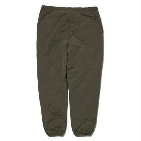 HELLRAZOR【 ヘルレイザー】WAVE QUILTED PANTS ARMY GREEN パンツ アーミーグリーン