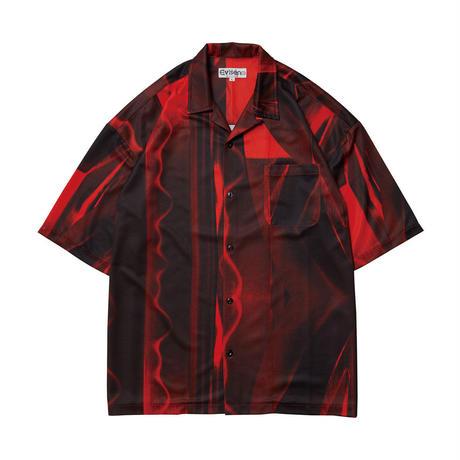 EVISEN【 えびせん】KATANA RED カタナ 半袖シャツ レッド