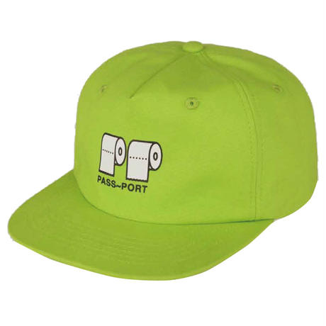 "PASS~PORT【 パスポート】""POO~POO"" CAP LIME キャップ 帽子 ライム"