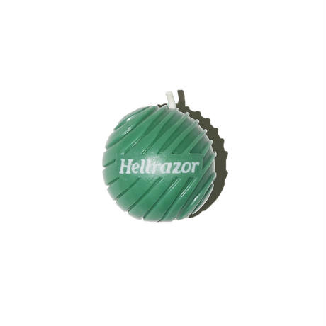 HELLRAZOR【 ヘルレイザー】 3D Logo Candle Wax - green ワックス ろうそく