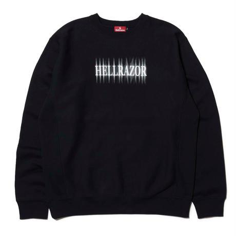 HELLRAZOR【 ヘルレイザー】CENOBITE CREW NECK クルーネック ブラック