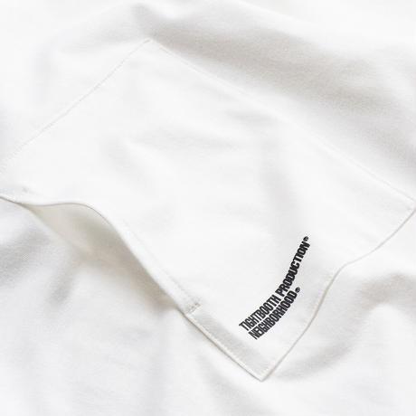 TIGHTBOOTH【 タイトブース】x NEIGHBORHOOD  STRAIGT UP T-SHIRT Tシャツ ホワイト