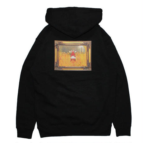 HELLRAZOR【 ヘルレイザー】x Shawn Powers Satan Pull Over Hoodie Black プルオーバー パーカー ブラック