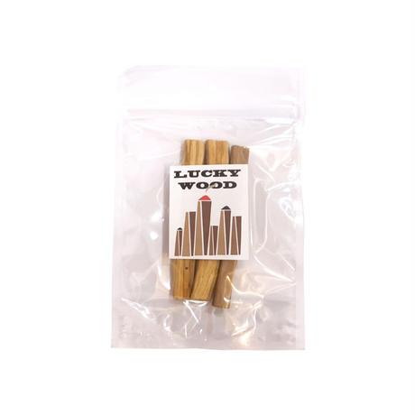 """LUCKYWOOD【ラッキーウッド】Fragrance """"LUCKY""""wood フレグランス ラッキー ウッド 香木"""