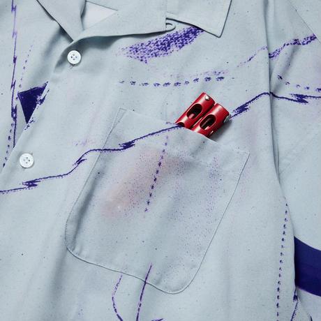 EVISEN【 えびせん】TOKONOMA SHIRT Purple 半袖シャツ パープル