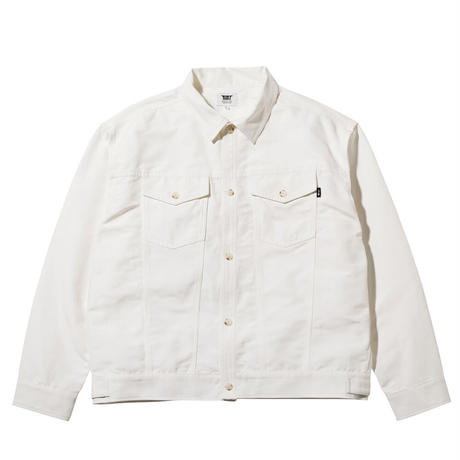 坩堝【 るつぼ】CITY BOY TRUCKER LS SHIRT トラッカー シャツ ジャケット ホワイト