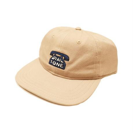 DIAL TONE【 ダイヤルトーン】DIAL STRAPBACK CAP KAHKI キャップ カーキ 帽子
