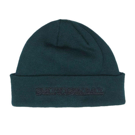 HELLRAZOR【 ヘルレイザー】SHIT IS REAL BEANIE ビーニー ハンターグリーン