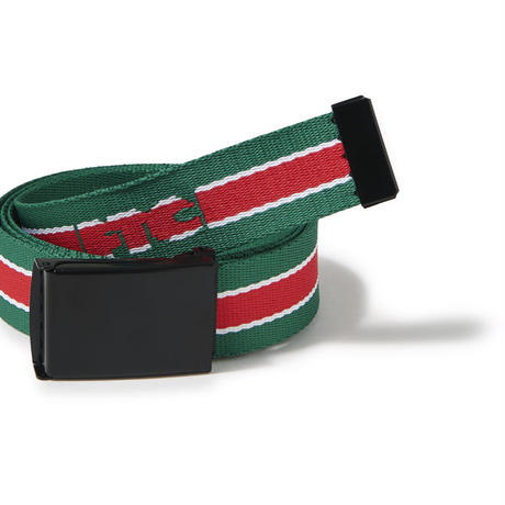 FTC【 エフティーシー】JACQUARD LOGO BELT GREEN グリーン