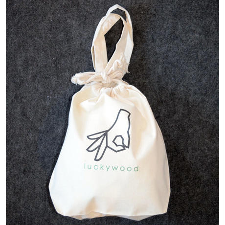 """""""do not look"""" TOTE BAG トートバッグ ナチュラル"""