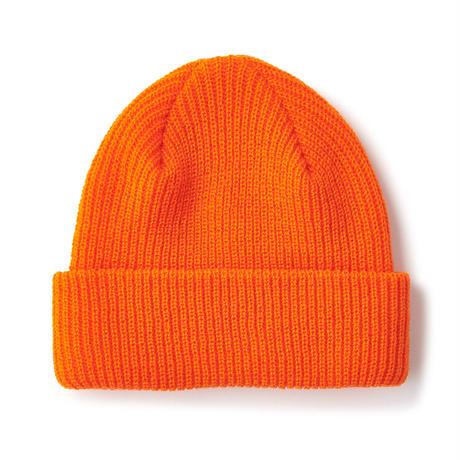 FTC【 エフティーシー】BOX LOGO BEANIE ORANGE ビーニー オレンジ
