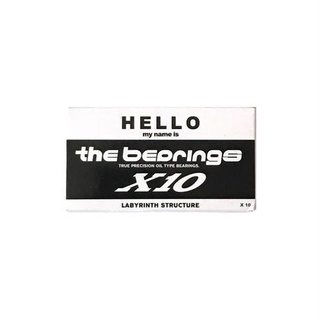 再入荷!!! THE BEARING【 ザ ベアリング】X10 BEARING ベアリング