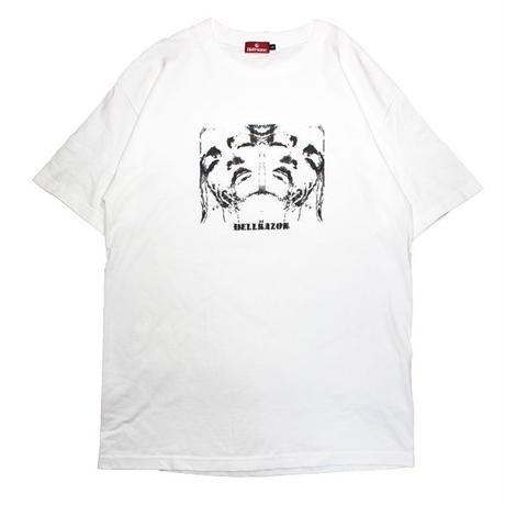 HELLRAZOR【 ヘルレイザー】FLEA SHIRT WHITE  Tシャツ ホワイト