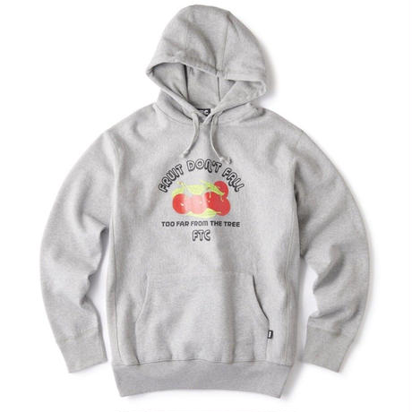 FTC【 エフティーシー】FRUIT DON' T FALL PULLOVER HOODY パーカー グレー