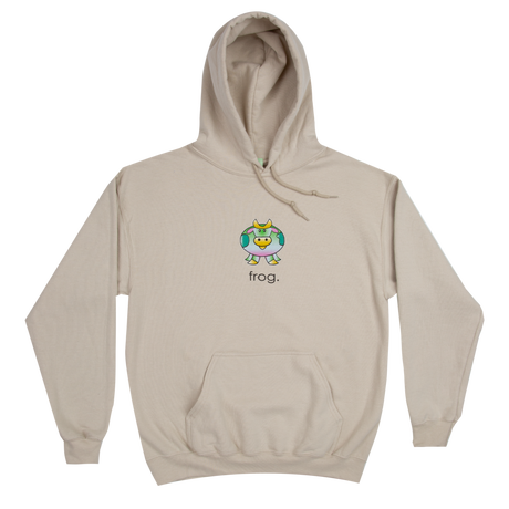 Frog skateboards【フロッグスケートボード】Cow Hoody Sand パーカー サンド