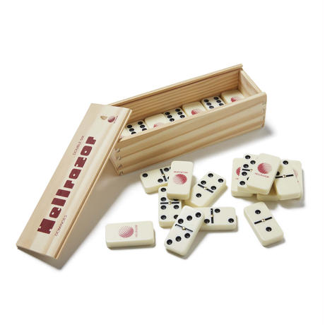 HELLRAZOR【 ヘルレイザー】 DOMINOES WITH WOODEN BOX IVORY/BLACK/RED ドミノ
