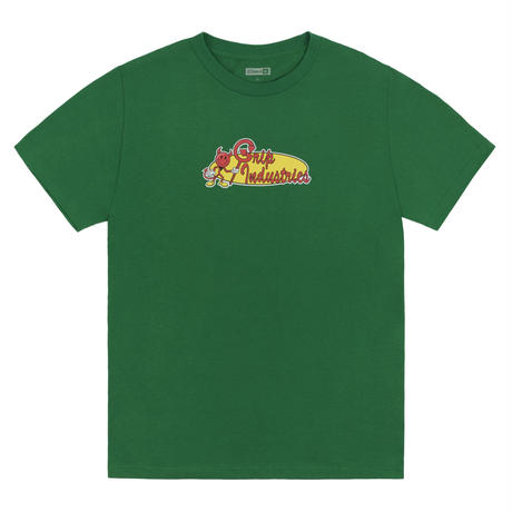 Classic Grip【 クラシックグリップ】Grip Industries TEE   Tシャツ グリーン