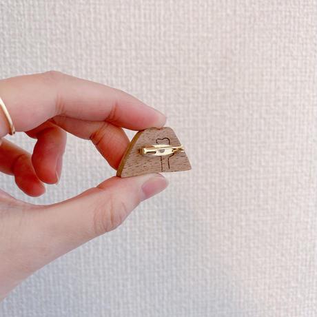 【iriki】brooch/A