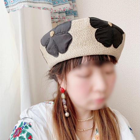 【Barairo no Boushi】押し花ペーパーベレー