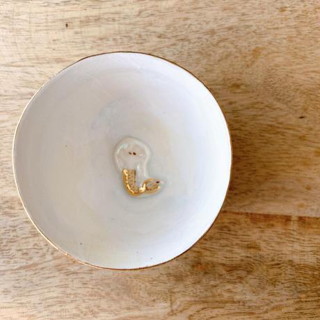 【KAZUYO NAKATANI】カラフル金彩ぐい呑み・人魚