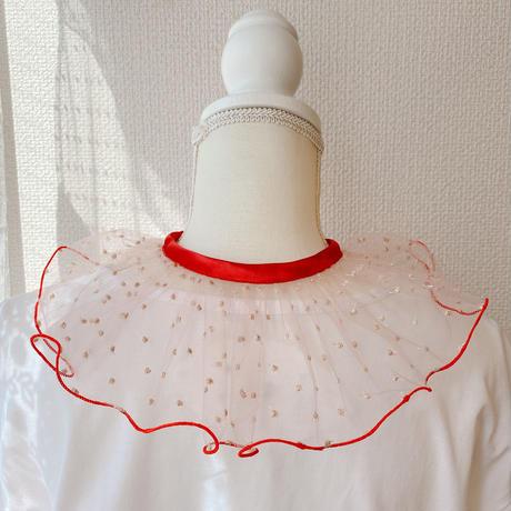 【●(hokuro)】DRESS/Dot×Red