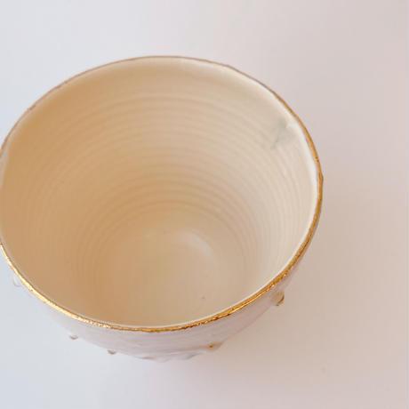 【KAZUYO NAKATANI】カラフル金彩カップ・くらげ