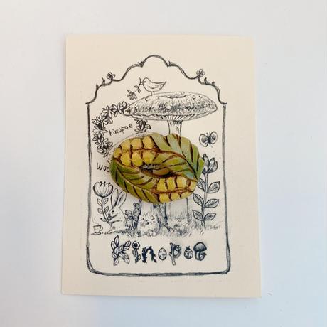 【kinopoe】ミモザブローチ