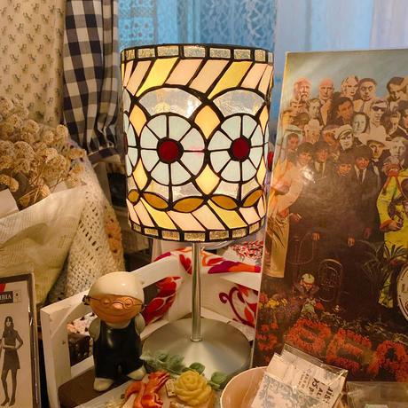 【hicoboci】置き型ランプ・花