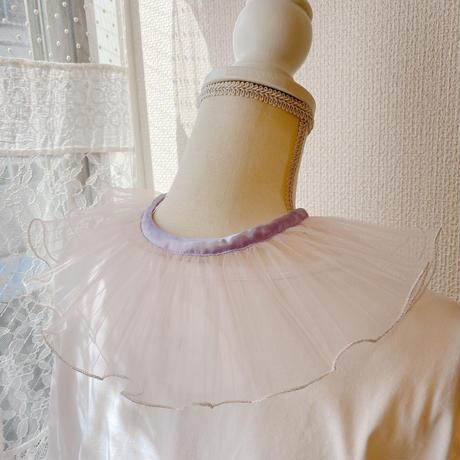 【●(hokuro)】DRESS/Purple×Pink