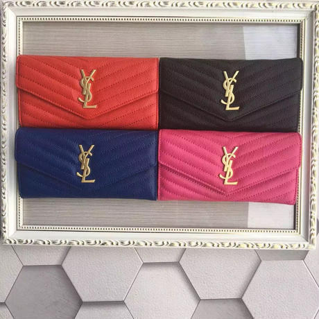 人気 Yves Saint Laurent イヴサンローラン YSL レディース セレブ愛用 長財布 財布 さいふ サイフ ysl-358093