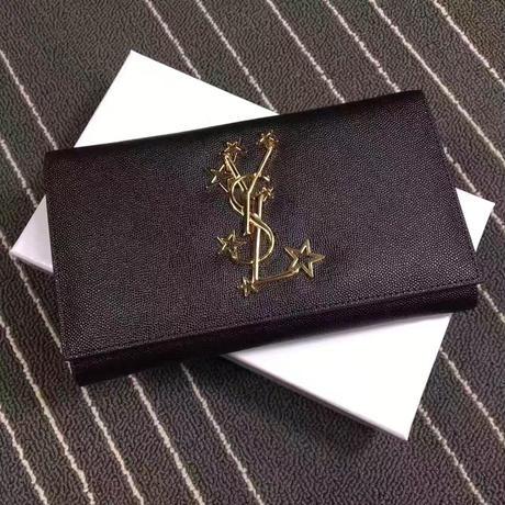 Yves Saint Laurent イヴサンローラン YSL レディース セレブ愛用  二つ折り 長財布 財布 さいふ サイフ ysl-603