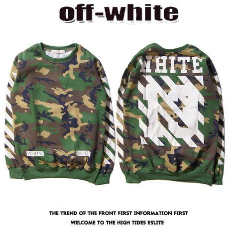 Off-White2016年秋新品 オフホワイト メンズバーカ 迷彩 White -08