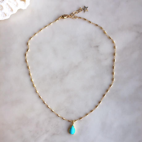 Sleeping beauty turquoise necklace