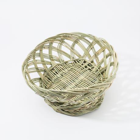 オカメ笹椀篭(丸)/阿部功一