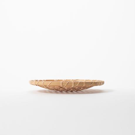 亀甲編み盛り皿(24cm)/小林真弓
