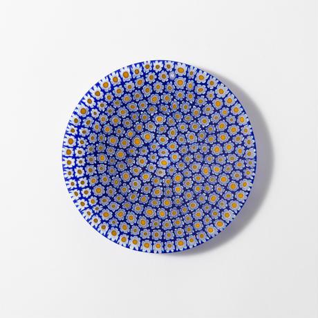 プレート13cm  ブルー系/ERCOLE MORETTI