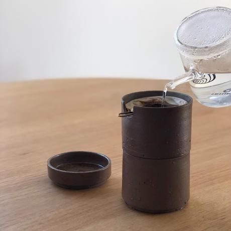 1人用ドリッパーセット nagom BASIC/備前焼 鳴瀧窯 narutaki