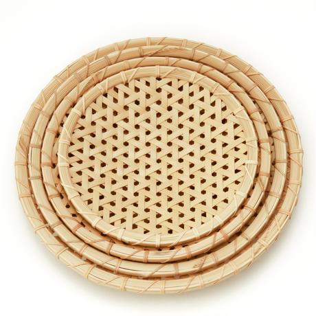 亀甲編み盛り皿(27cm)/小林真弓