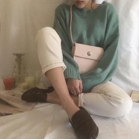 Candy knit / mint