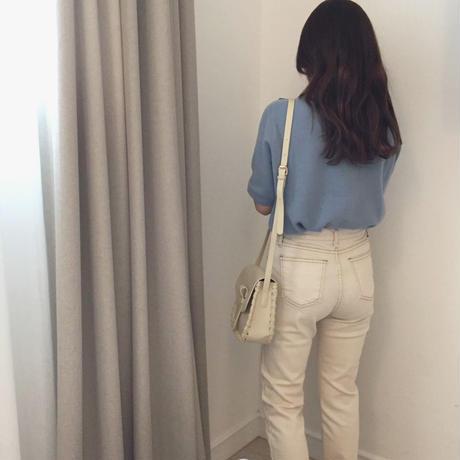 《再販》ivory pants