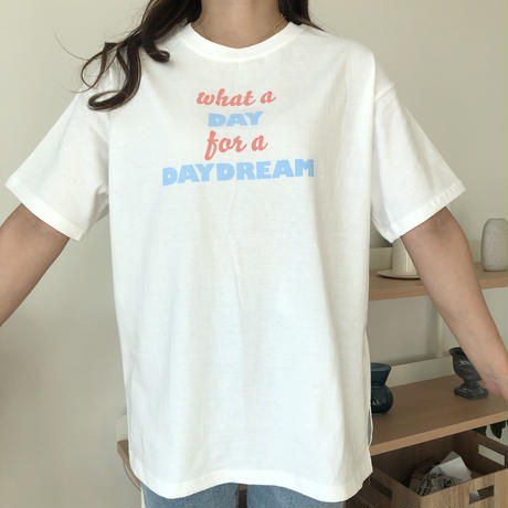 ice  cream Tshirt /  white
