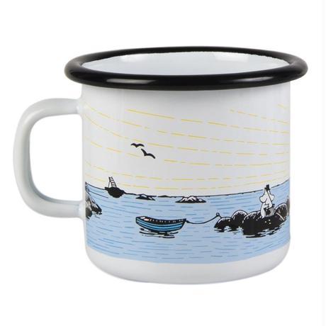 Muurla (ムールラ) ムーミン ホーロー マグカップ 穏やかな風 2,5DL