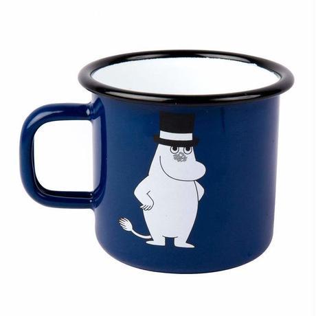 Muurla (ムールラ)  レトロ  ムーミン ホーロー マグカップ ムーミンパパ 3,7DL