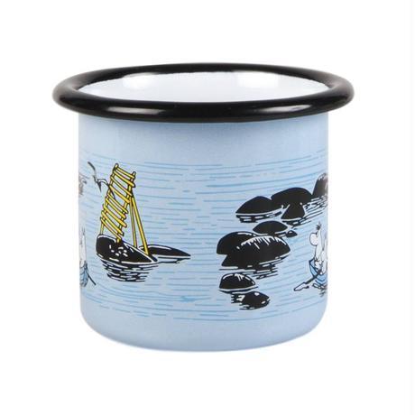 Muurla (ムールラ) ムーミン ホーロー マグカップ 穏やかな風 1,5DL
