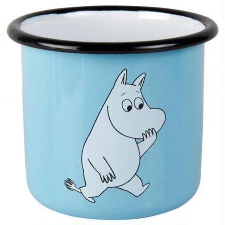 Muurla (ムールラ)  レトロ ムーミン ホーロー マグカップ ムーミン 3,7DL