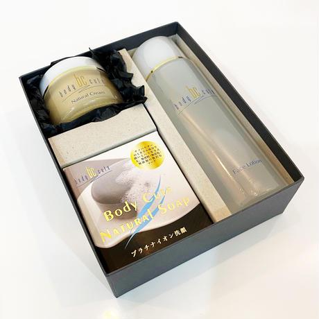 BODY CUTE メンズ化粧品BOXセット(3点)