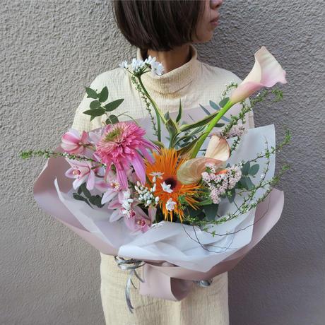 seasonal bouquet(花束) : spring 【¥5,000】