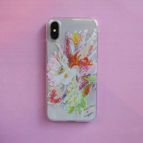 MURKOS×LUVONICAL flower works iPhone case & post card 02